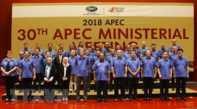 政府副总理兼外交部长范平明出席亚太经合组织外交与经贸部长会议
