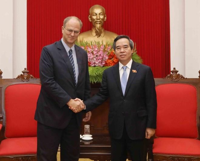 德国一向重视发展与越南的多方面传统友好合作关系