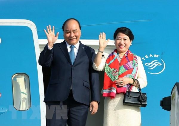 阮春福总理今日启程出席第33届东盟峰会