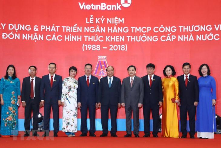 阮春福总理出席越南工商银行成立30周年纪念大会