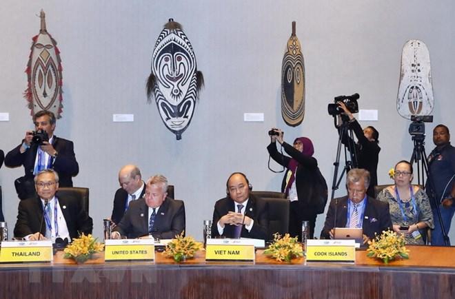 2018年APEC峰会:阮春福总理开始APEC峰会相关活动