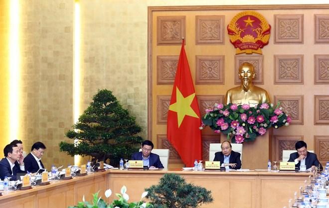 越南政府讨论2019年社会经济发展计划落实任务