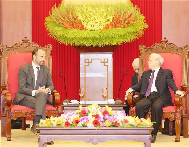 越南将法国视为欧洲国家的头等伙伴