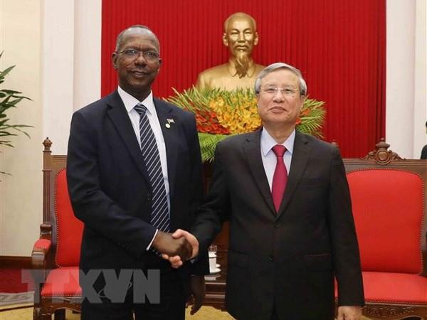 苏丹决心力推与越南的友好关系