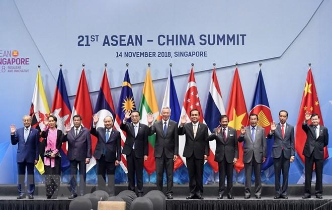 政府总理阮春福出席东盟与伙伴国领导人的各场会议