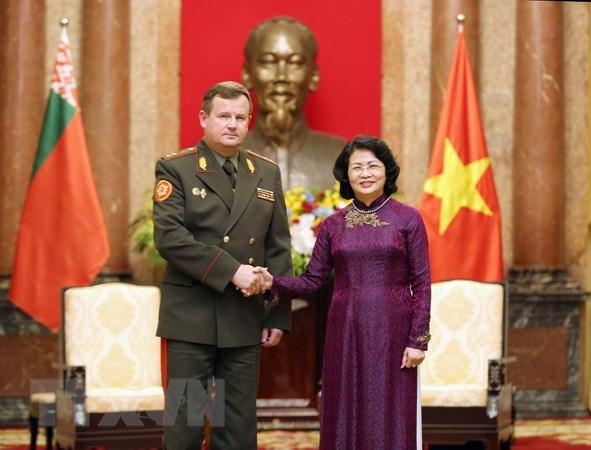 越南-白俄罗斯增强各潜力领域的合作