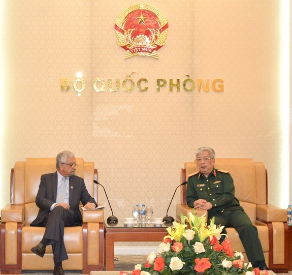 参加联合国维和行动是越南的一项长期战略