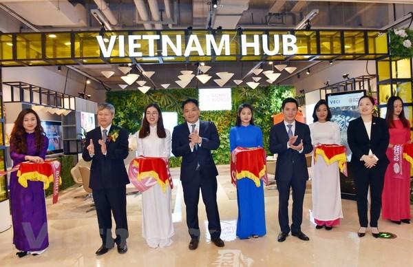 越南馆在上海绿地全球商贸港正式揭牌