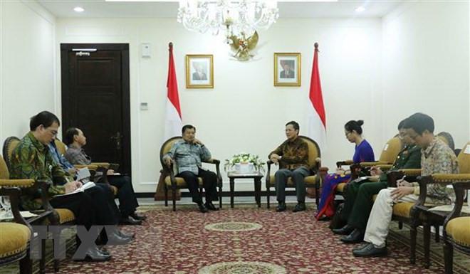 越南和印度尼西亚力推合作关系