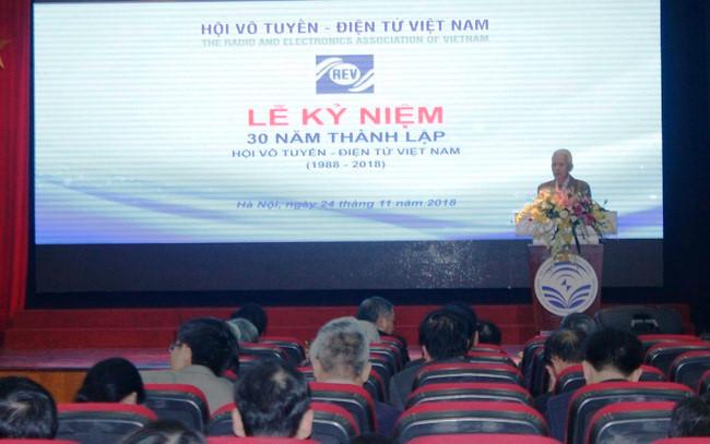 越南无线电电子协会大会暨协会成立三十周年纪念活动举行
