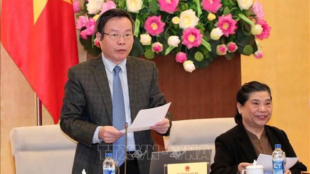 越南国会常务委员会通过《四部有关规划法令的若干条款修改、补充法令》