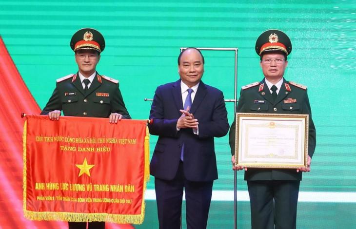 政府总理阮春福: 108号中央军队医院是越南军民可信赖的地方