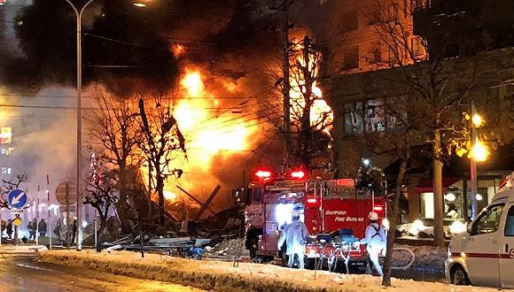 日本札幌爆炸事故伤者人数升至52人
