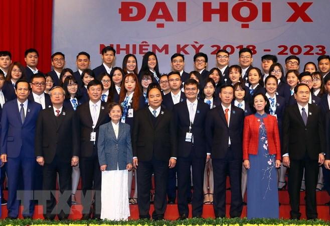 阮春福总理:打造有气魄、行动积极的新时代学生队伍