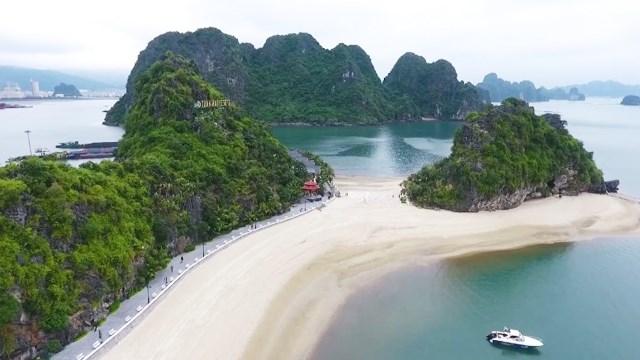 广宁锦普市大力发展旅游业