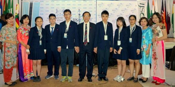 越南学生在2018年IJSO竞赛中取得骄人成绩