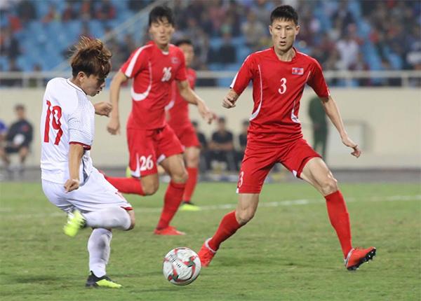 友谊赛:越南队1比1战平朝鲜队
