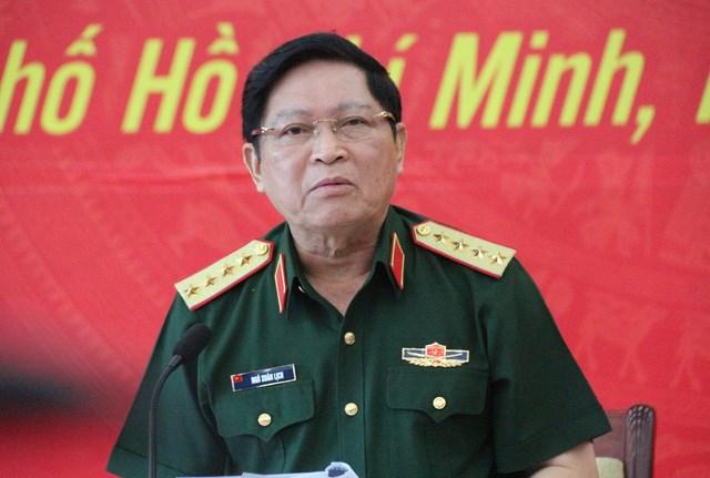 越南高级军事代表团对柬埔寨进行正式访问