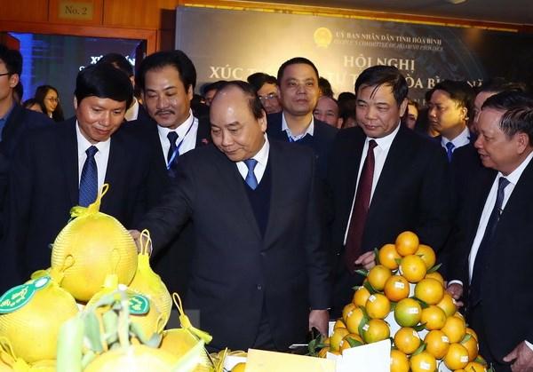 阮春福总理出席和平省投资促进会