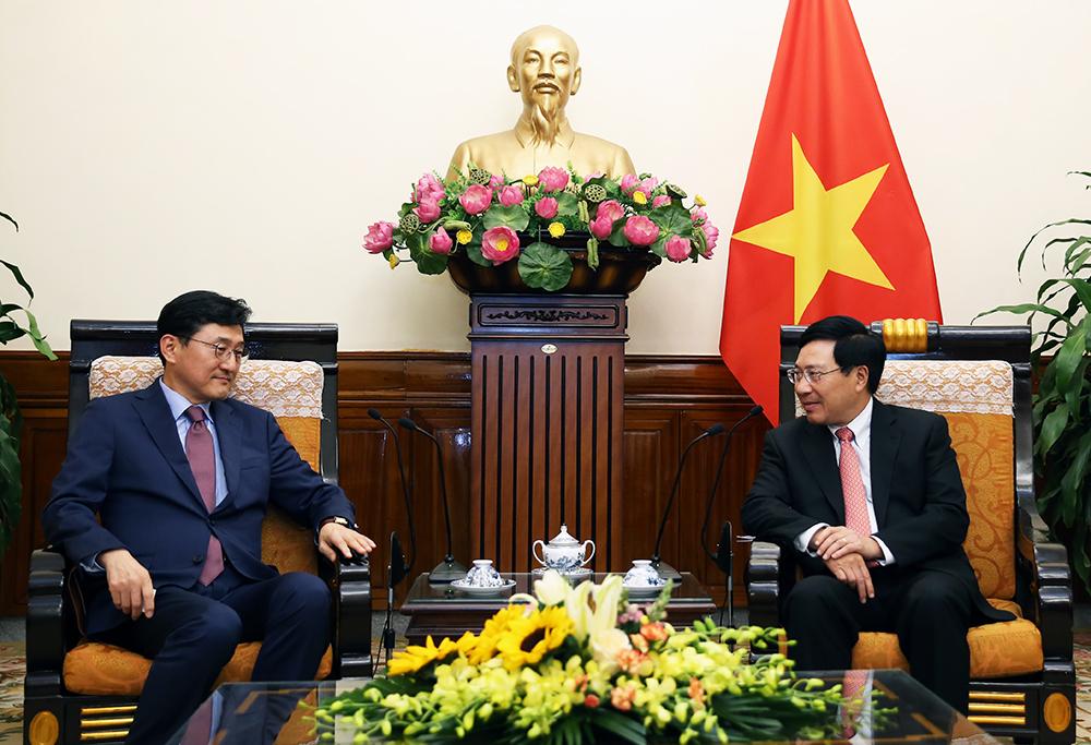 越南和东盟重视发展与韩国的关系