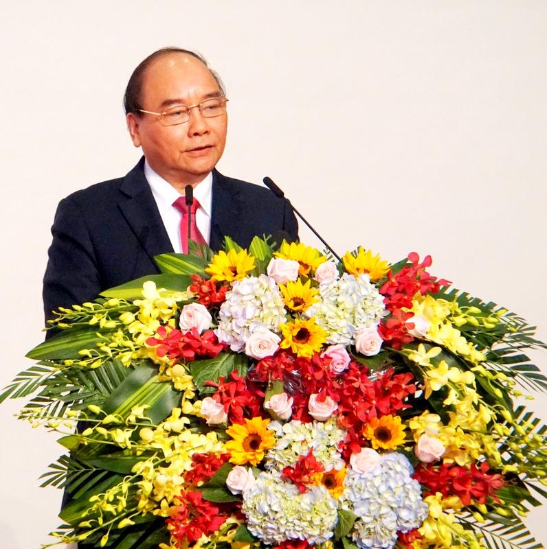 阮春福总理出席珠莱经济区规划调整决定公布仪式