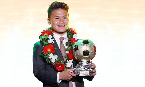 阮光海荣获2018年男子金球奖