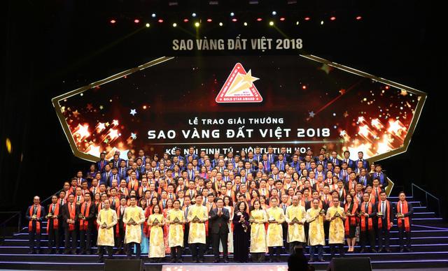 200家企业荣获2018年越南金星奖