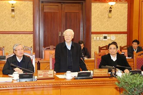 越共中央总书记、国家主席阮富仲:进一步提高党员素质