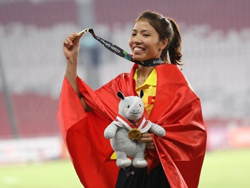 秋草获得2018年越南全国优秀运动员奖