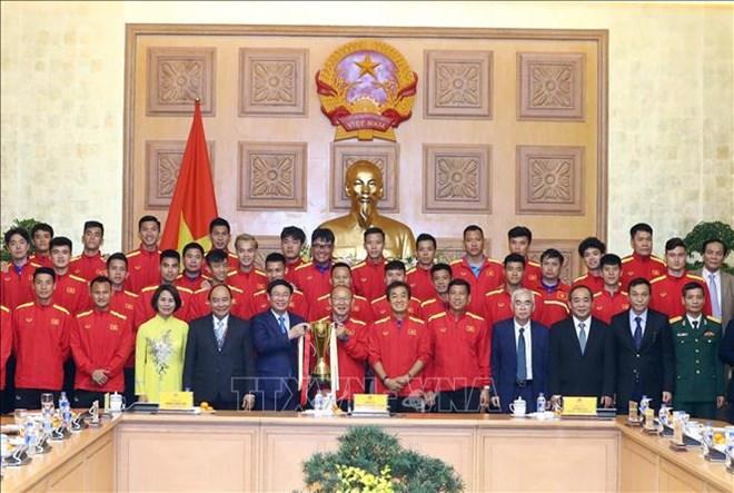 政府总理阮春福:足球激发爱国精神和民族自豪感