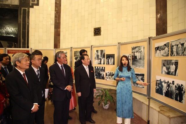 """""""越南-朝鲜友好情谊""""图片展在河内开展"""
