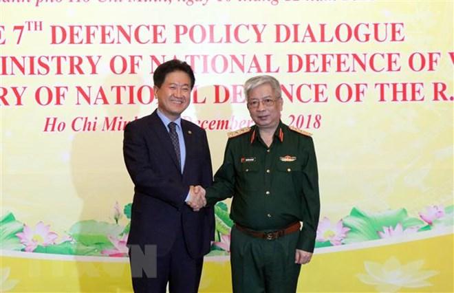 越南与韩国加强防务合作