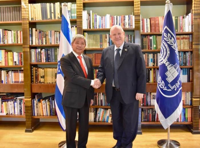 以色列总统:以色列重视发展对越关系