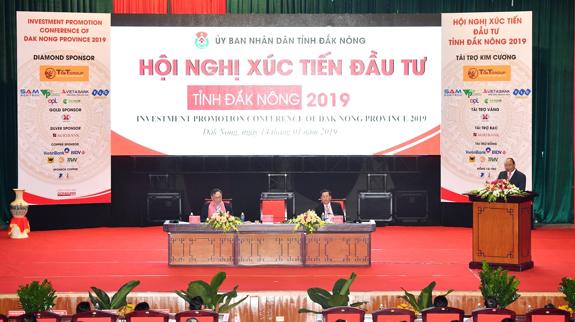 阮春福总理出席多农省投资促进会