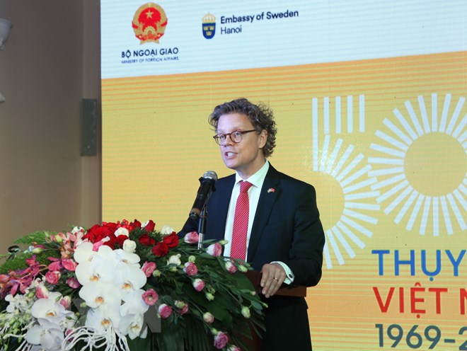 越南和瑞典建交50周年纪念会在河内举行