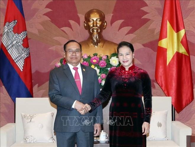 进一步深化越南与柬埔寨之间的关系