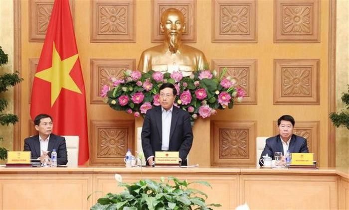 政治-国防-安全领域融入国际跨部门指导委员会会议举行