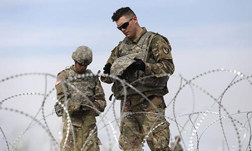美军再度延长在美墨边境驻扎时间