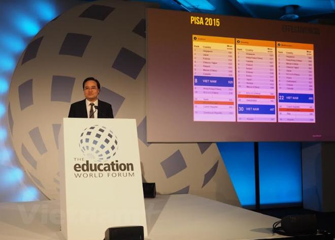 越南参加在英国伦敦举行的世界教育论坛