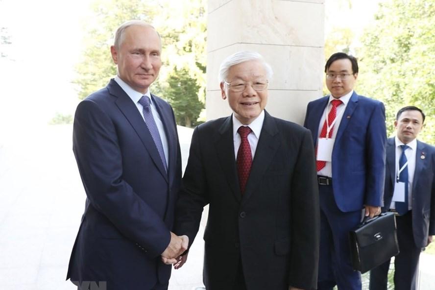 越俄关系 2018年的重要里程碑