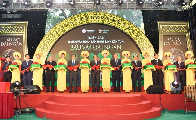 阮春福总理希望玉灵人参为越南药材行业打上新的历史烙印