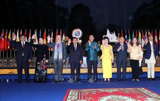 亚洲文化理事会成立仪式在柬埔寨举行