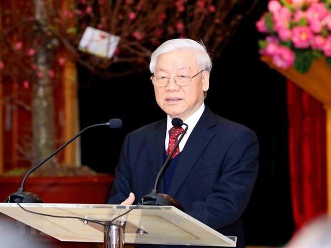 越共中央总书记、国家主席阮富仲:为国家奠定坚实发展基础