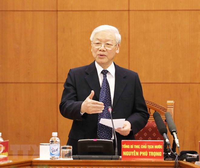 越共十三大文件起草小组第一次会议在河内召开