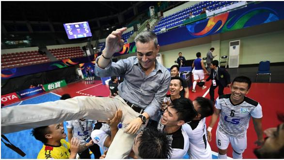 越南五人制足球荣获三个国际奖项