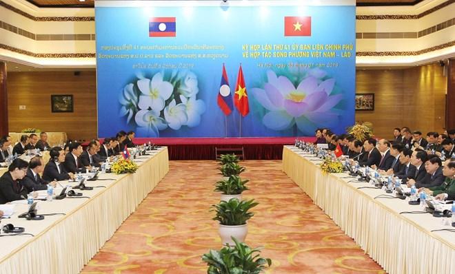 越老政府间联合委员会第41次会议举行
