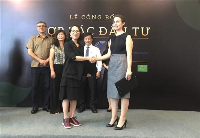美国投资基金会对越南有机食品公司进行投资