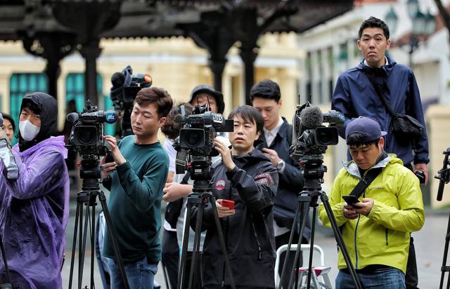 2600名外国记者报名参与美朝领导人第二次会晤报道工作