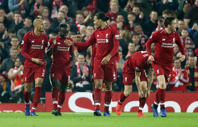 英超: 利物浦5-0大胜仍1分领跑