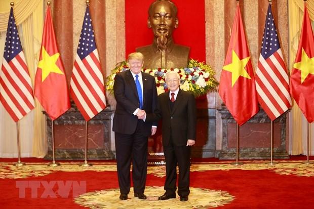 越南与美国领导人探讨东海问题